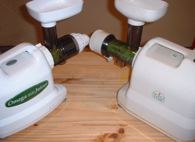 Omega 8002 and Solo Star Juicers