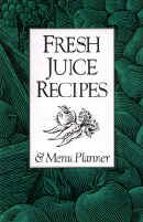 Fresh Juice Recipes & Menu Planner Booklet is FREE when you order the Juiceman II from us!
