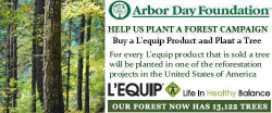 Buy a Lequip and Plant a Tree