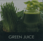 The Omega nc800 will juice leafy greens and wheat grass.