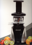 Tribest Slow Star SW2020B Juicer with Spout Cap and Mincer aka Homogenizing Attachment