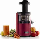 The Omega VSJ843RR Round RED Juicer