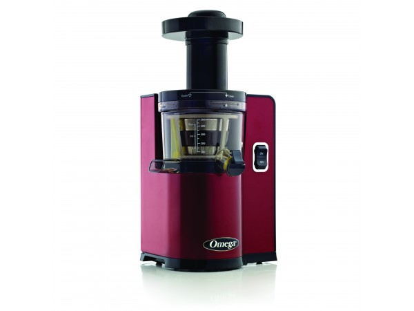 Omega Vert Slow Juicer Vsj843qw : Omega vERT vSJ843 vertical vSJ843 red juicer- Latest vertical Slow Juicer from Omega.