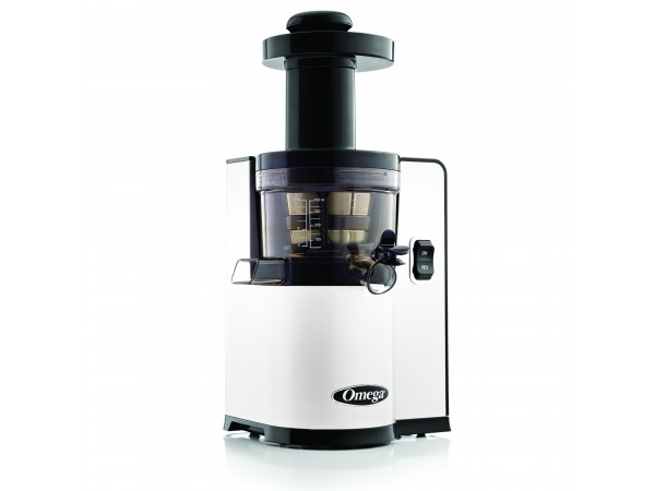 Slow Juicer Vs Rasaftcentrifug : Omega vERT vSJ843 vertical vSJ843 white juicer- Latest vertical Slow Juicer from Omega.